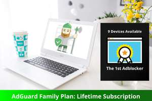 AdGuard Family Plan Lifetime Subscription