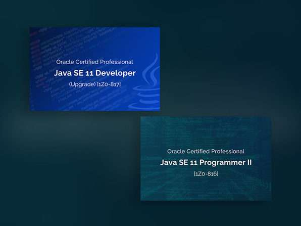 Oracle Java Certification Exam Preparation Courses + Tests Training Bundle
